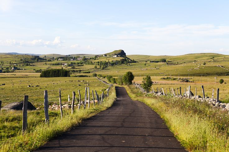 Our Favorite Prairie & Plateau: Aubrac, France #travel