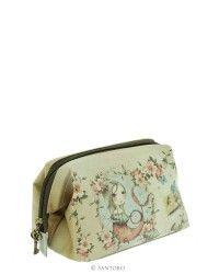 Frame Clutch Case / Cosmetic Bag - Mergirl, Santoro's Mirabelle