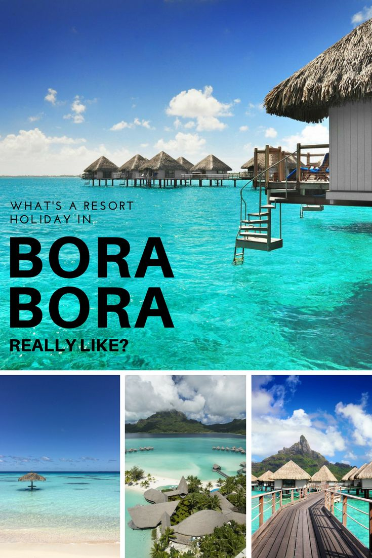 We asked a travel writer to describe what a resort holiday in Bora Bora is really like. Here's what she said. Article via Canadian Traveller Magazine. #frenchpolynesia #tahiti #borabora