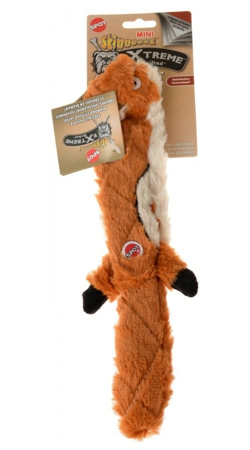 Spot Skinneeez Extreme Quilted Mini Chipmunk Chipmunks Dog Toys