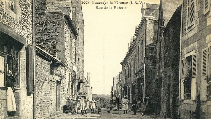 Bazouges-la-Pérouse - Rue de la Poterie