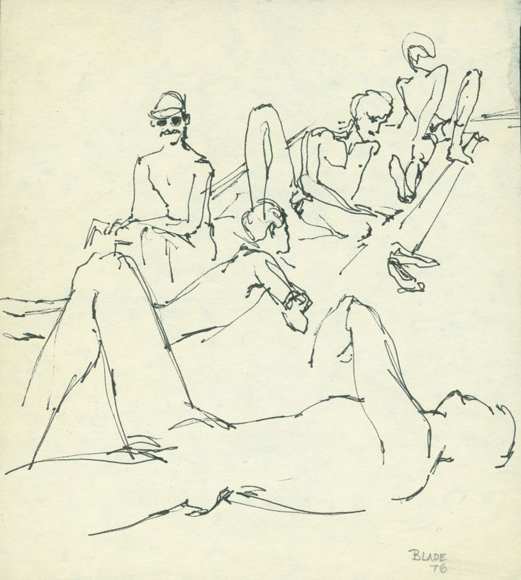 Tits by cocteau drawing erotic evergreen jean that little booty