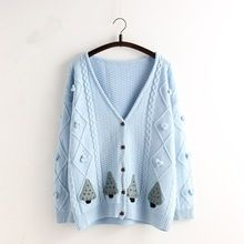 Ladies heavy gauge custom winter cardigan korea style fancy crochet knitting Best Buy follow this link http://shopingayo.space