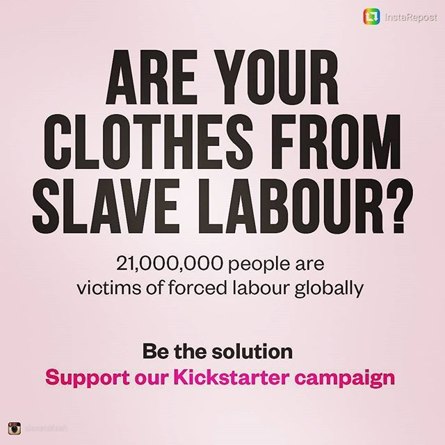 #sustainablefashion #modernslavery #fashionsustainability