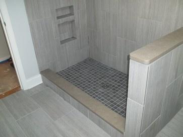 vertical shower tile ideas vertical tile contemporary bathroom nashville by franks