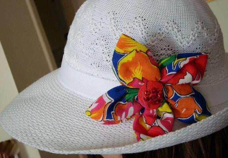 Flower on my hat