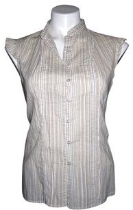 New York & Company Button Down Shirt Beige #risdarling #tradesy #fashion DONT FORGET the $20 off $50 W/ this LINK: http://www.tradesy.com/invite/marisa-c-2568617?utm_source=RFL&utm_content=RFL0001_2568617&utm_medium=link #  #help #reach #goals #minimalist #accessory #designer #shoes #treatyoself #atx #style #loveit #musthave #fashionista #love #forsale #winter #fall #holiday #party #gift #giftideas