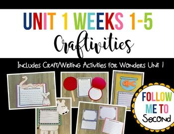 These writing crafts are aligned to the McGraw-Hill Wonders series Literature Anthology readings. This bundle includes craftivities for the readings from Unit 1 weeks 1-5: Week One: Help! A Story of Friendship Week Two: Big Red Lollipop Week Three: Not Norman Week Four: Lola and Tiva: An Unlikely Friendship Week Five: Families Working Together