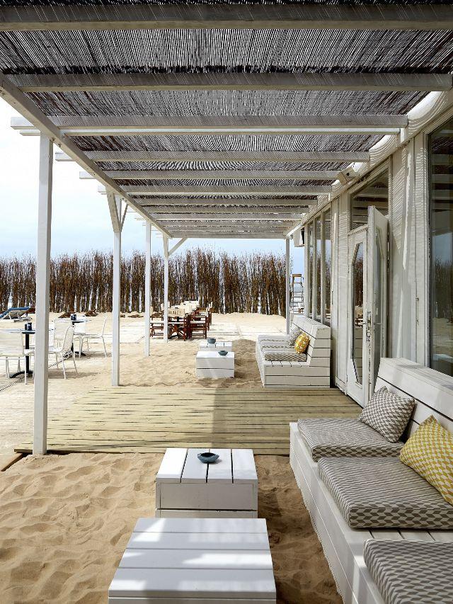 Cafe George George 5 Mer du Nord Zandvoort # zwembad #strand