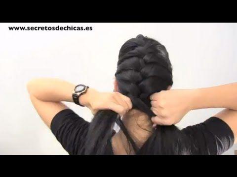 Cómo hacer una trenza de raíz paso a paso http://ini.es/1x9APgZ #DIY, #PeinadosPasoAPaso, #Video