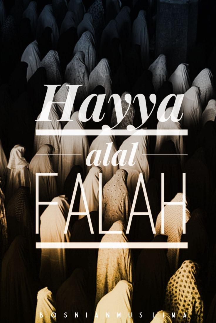 Hayya alal falah Rush to success