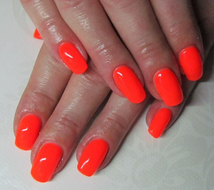 Semilac 045 Electric Orange