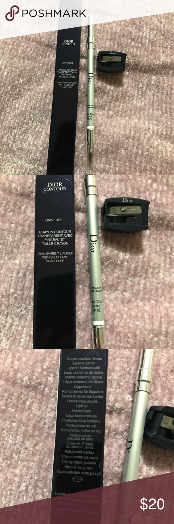 Dior contour Brand new, authentic Dior contour universal crayon with sharpener included Dior Makeup
