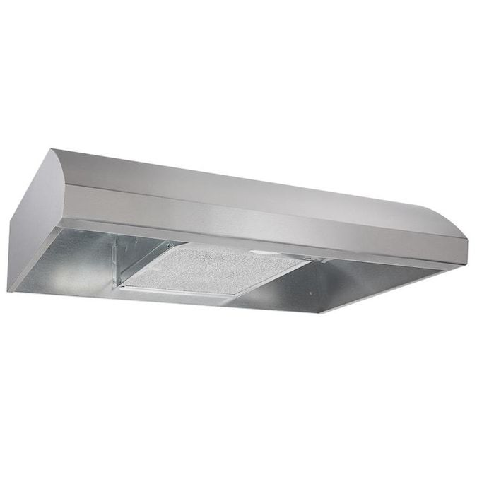 Broan 30 In Convertible Stainless Steel Undercabinet Range Hood Lowes Com In 2021 Stainless Range Hood Broan Range Hood