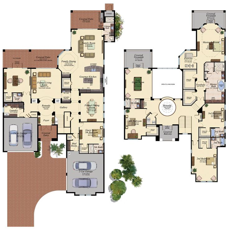78 best blueprints floor plans images on pinterest home plans juliana new house plan in the bridges delray beach florida malvernweather Images