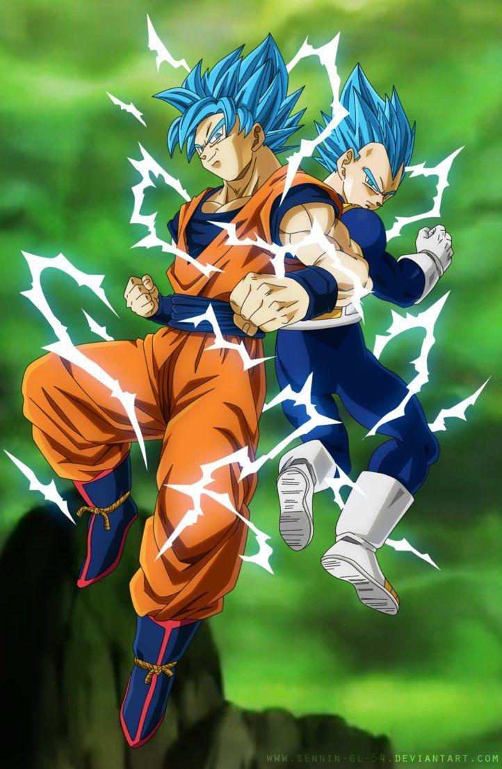 Goku And Vegeta Vjump Universe Survival By Sennin Gl 54 Dragon