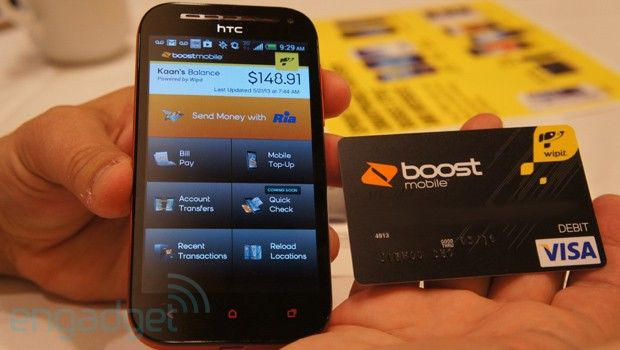 Boost Mobile Wallet app and prepaid Visa hands-on http://Mobile1stChoice.com #Mobile1stChoice
