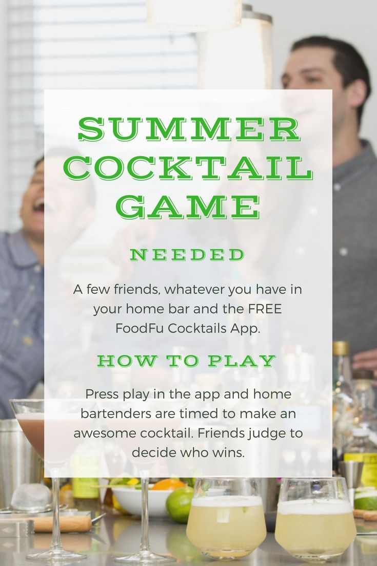 Great Game To Play With Everyone In The Kitchen. See Who Can Make The Best