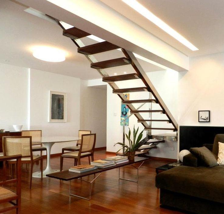 Escaleras para espacios reducidos: ¡10 diseños sensacionales! (De Manuel Iván Rojas Quiñones)