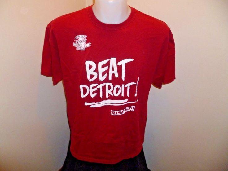 Cleveland Cavs 2007 NBA Playoffs Beat Detroit T-shirt - Size XL - Cavaliers  #Gildan #ClevelandCavaliers