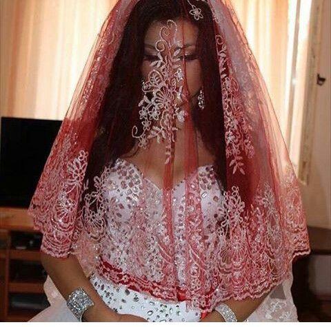 Red kerchief #tradition #kosovo #albanian #nuse