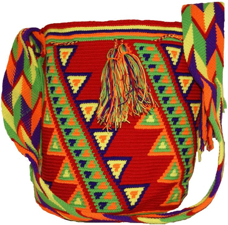 Wayuu Medium Bag Design Native - CaritoCaró