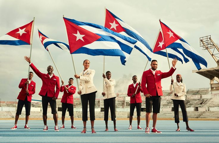 The Cuban team will wear formalwear designed by Louboutin and Henry Tai, a former handball player from France.