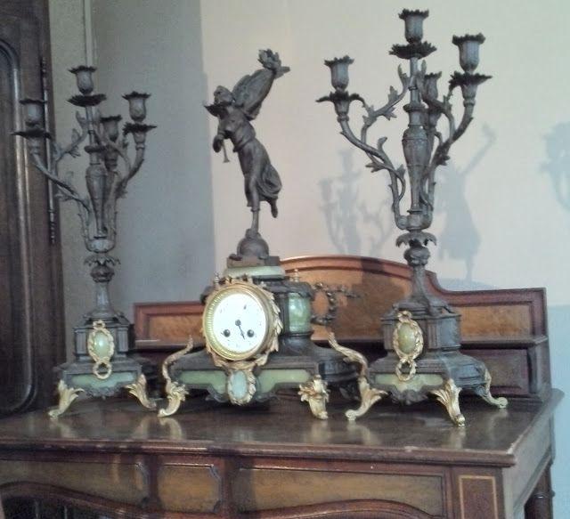 120 best images about antique frenc mantle clock on pinterest. Black Bedroom Furniture Sets. Home Design Ideas