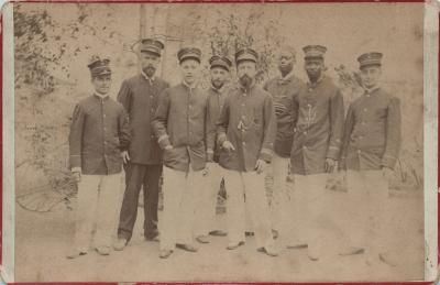 Staff working for the Administration of Congo Free State.