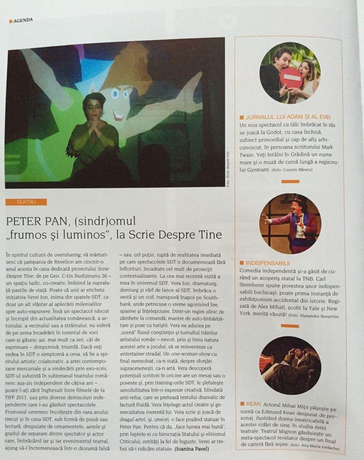 Peter Pan by Vera @ SDT [Igloo, martie 2015]  