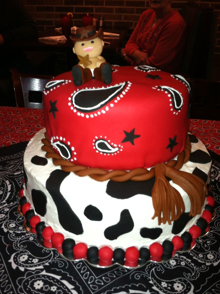cowboy baby shower cake 1st birthday ideas pinterest