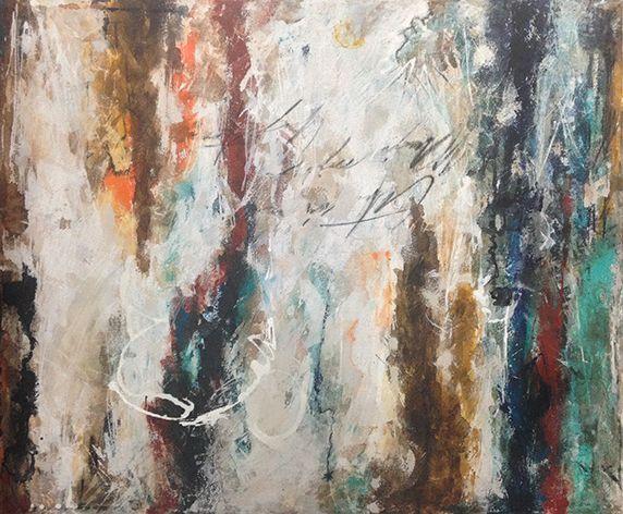 """Pasaron los Años"" 2014 técnica mixta sobre tela / mixed techique canvas 120 cm x 100 cm / 47 1/4"" x 39 1/3"""