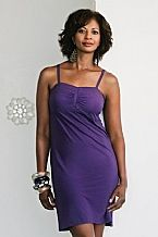 Purple Mastectomy Cami Dress