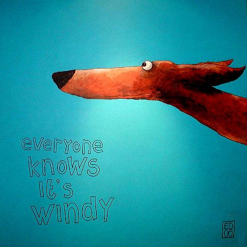 061 WINDY MIDSIZE signed and numbered giclee print 21 by edart