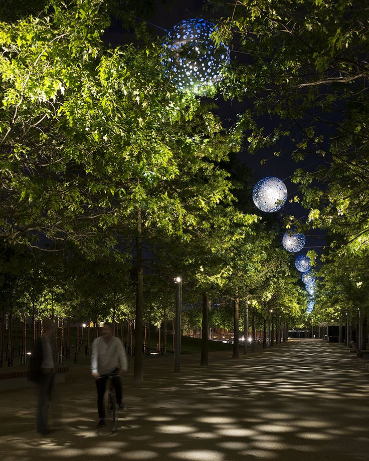 Queen Elizabeth Olympic Park, London, UK | London | United Kingdom | Lighting Projects 2015 | WIN Awards