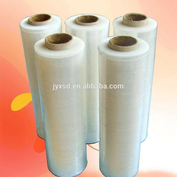 clear pe stretch film