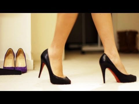 HOW TO WALK IN HEELS & STILETTOS: If you've ever seen me walking in heels, you'll understand why I need a tutorial :)