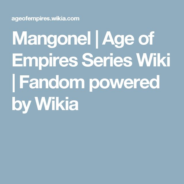 Mangonel | Age of Empires Series Wiki | Fandom powered by Wikia