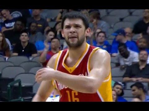 Kostas Papanikolaou hits back-to-back threes in first NBA game  Are you a hard core hoops fan? Let's connect!! •	Check out all my latest blog posts:  o	http://slapdoghoops.blogspot.com,   •	Follow me on Twitter  o	http://www.twitter.com/slapdoghoops •	The same goes for my Google+ page; add me to your circles  o	https://plus.google.com/+SlapdoghoopsBlogspot/posts  •	Finally, do me the honor and like my Official Facebook Page:  o	https://www.facebook.com/slapdoghoops