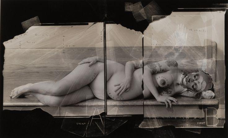 Mythology, Motherhood and Time (print no.2, unique), Vincent Serbin