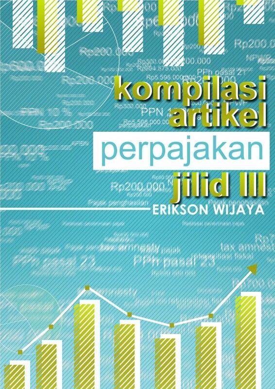 Desain cover ebook perpajakan teman saya dari Dirjen pajak