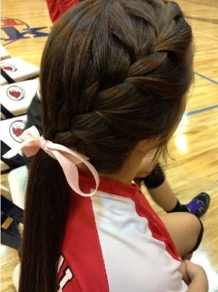 different easy hair styles 1000 ideas about braid ponytail on 6464