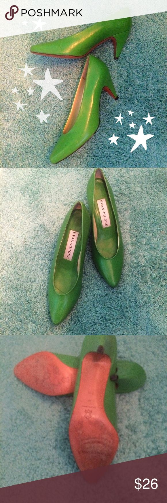 Evan Picone / size 8 / Kelly Green / 3 inch Evan Picone - size 8 - Kelly Green - 3 inch. Please feel free to make an offer - Enjoy discounts on bundles & save $$$ on shipping!  💜💜💜 Shoes Heels