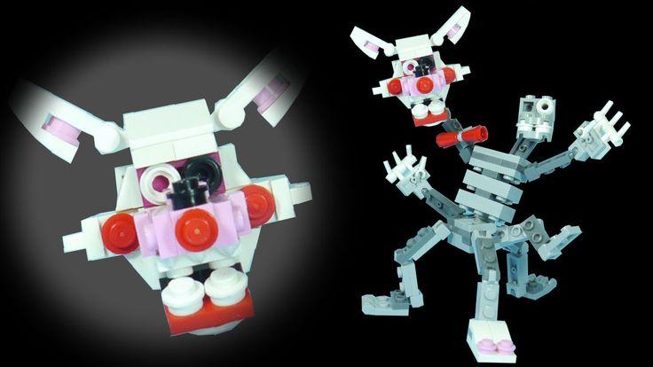 How To Build Lego Mangle Phantom Amp Nightmare Lego Fnaf
