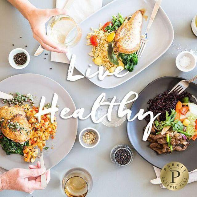 Healthy isn't a goal, it's a lifestyle! #puratyteas