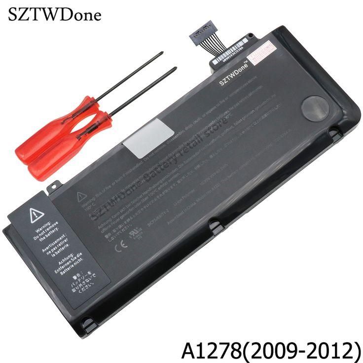"Laptop Battery A1322 For APPLE MacBook Pro 13"" A1278 MB990 MB991 MC700 MC374 MD313 MD101 MD314 MC724 MC375 020-6765-A MC374LL/A #Affiliate"