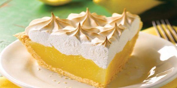 Простой и вкусный лимонный пирог — это просто совершенный вкус