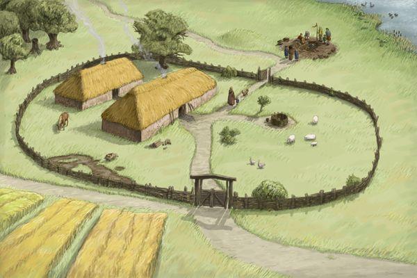 Søren T. Nordbo - Iron Age Farm