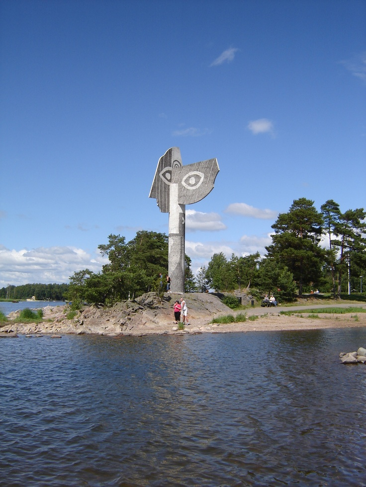 Kristinehamn, Sweden where my hummy grew up in. when we went there, that water was frozen. so beautiful