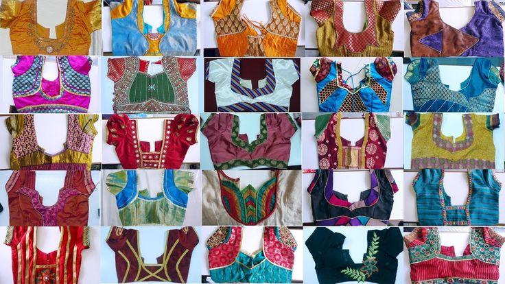 Neck designs 2017 blouse models new plus size